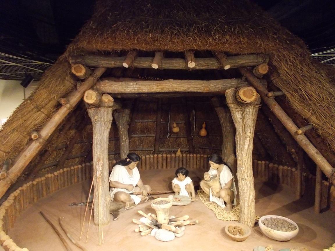 縄文時代 竪穴住居