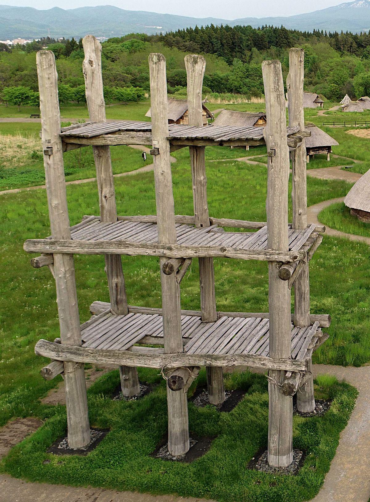 三内丸山遺跡 六本柱