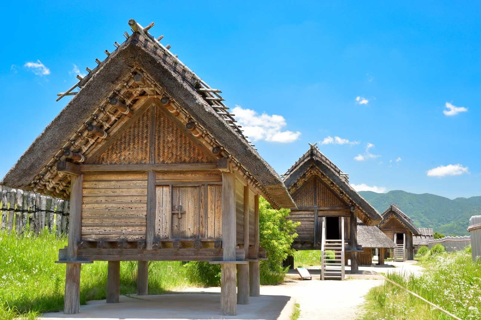 吉野ヶ里遺跡 高床式倉庫