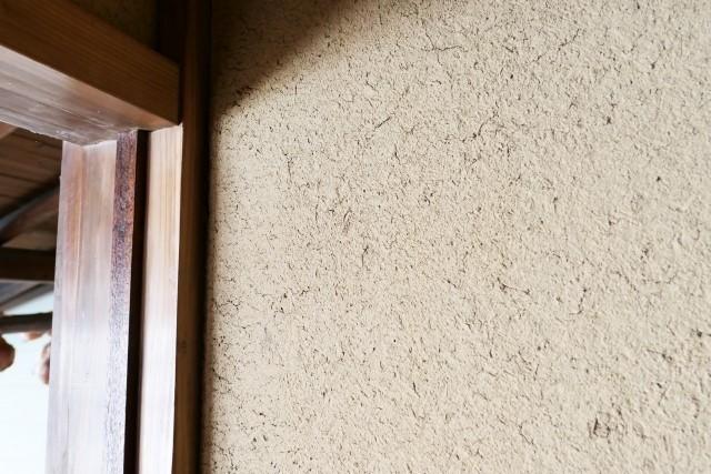 茶室 土壁
