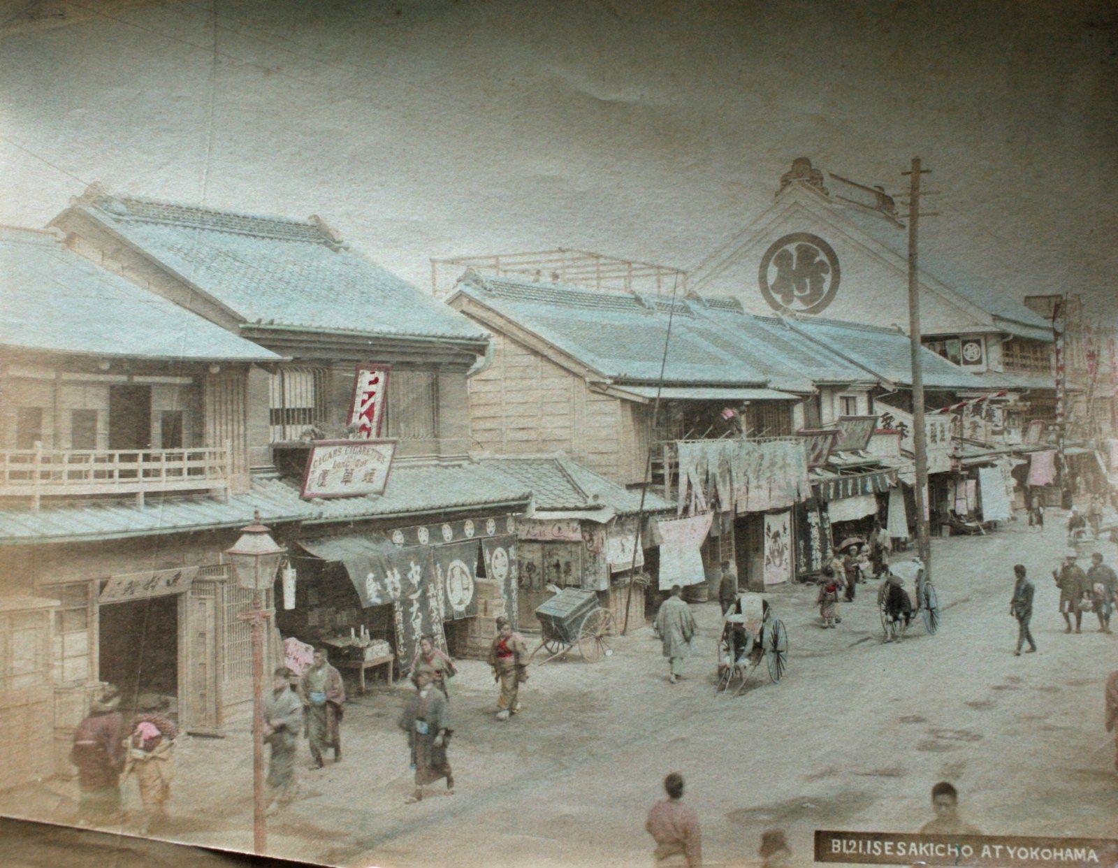 明治 横浜