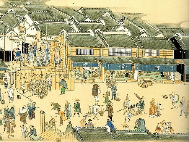 江戸時代 町屋建築