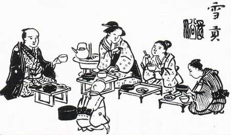 江戸時代 団欒