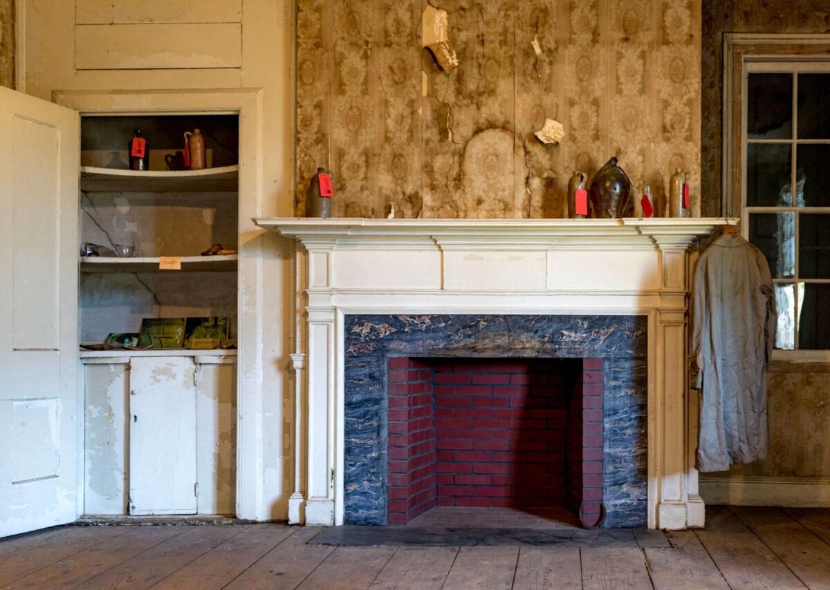 暖炉 マントルピース 19世期