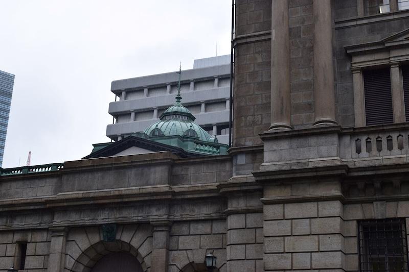 日本銀行 本店 花崗岩 安山岩