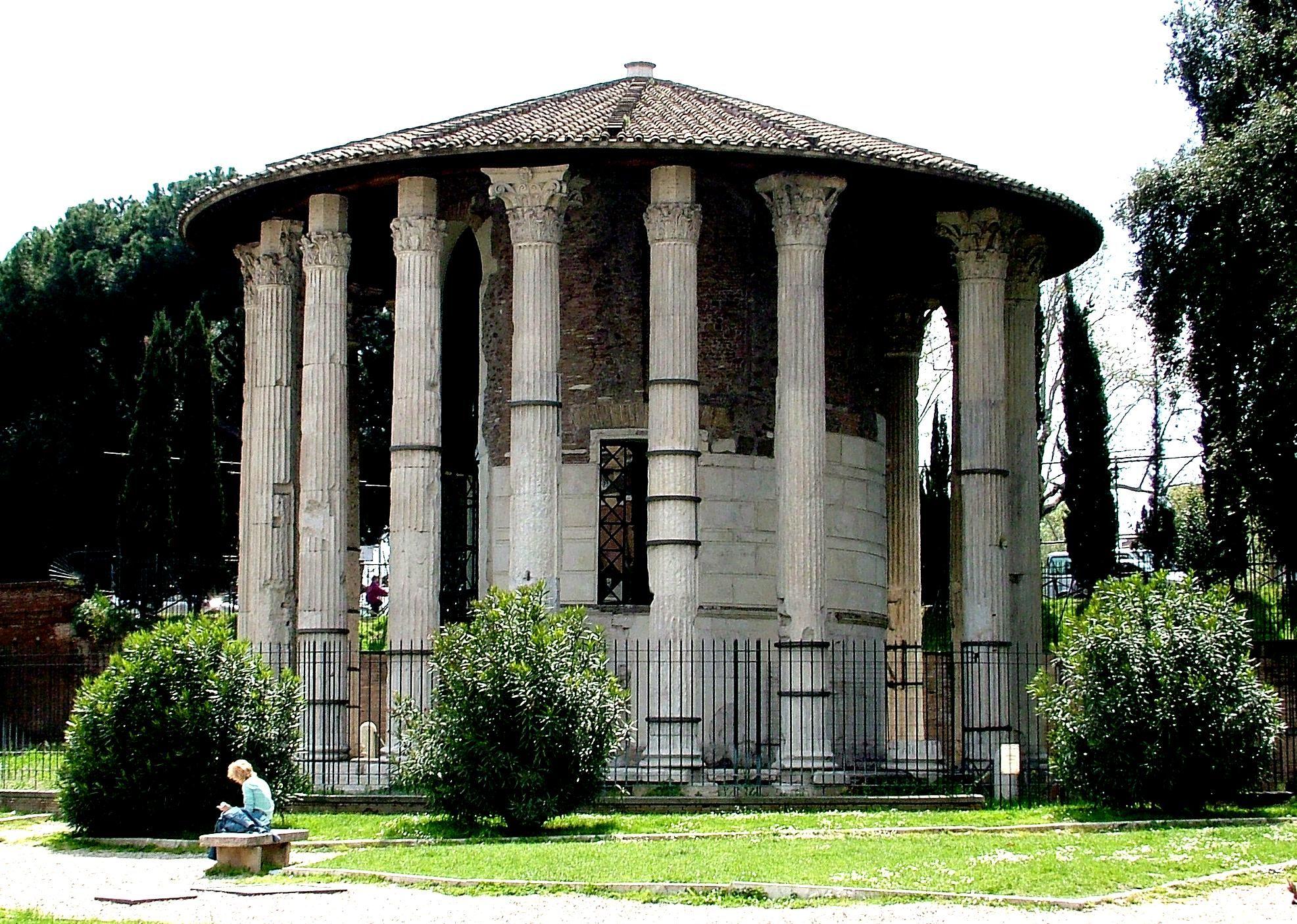 古代ローマ 円形神殿 集中式