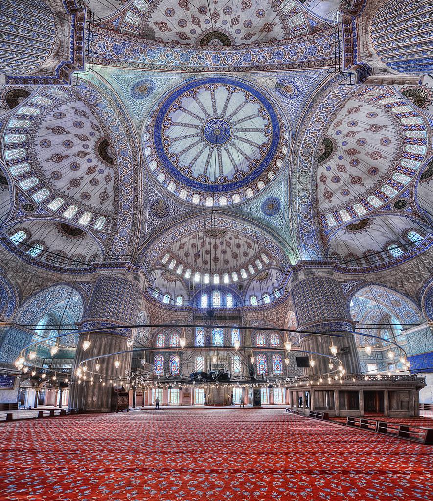 ブルー・モスク イスラム建築