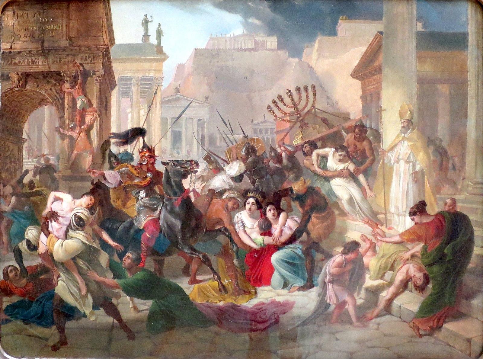 ゲルマン人 ローマ略奪