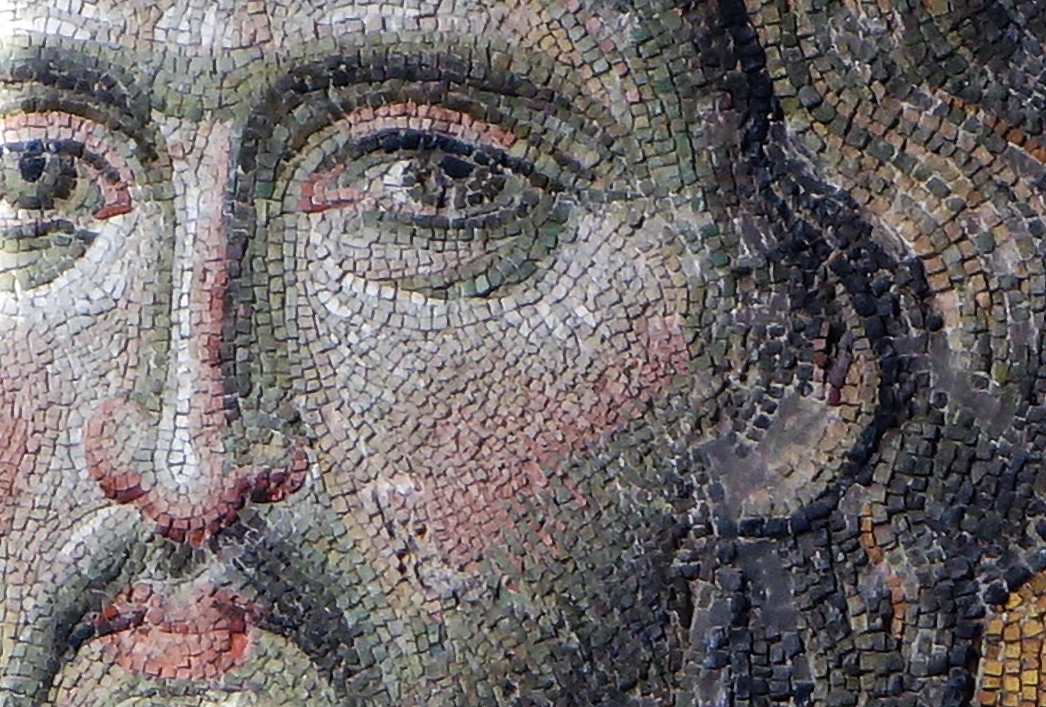 モザイク ビザンチン ハギアソフィア