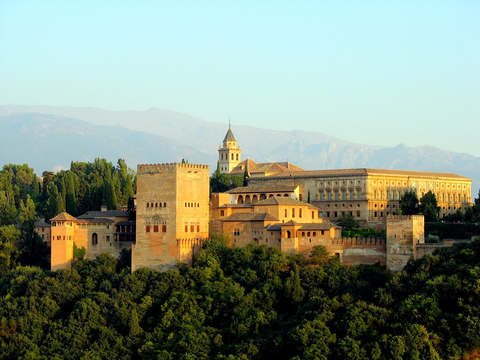 アルハンブラ宮殿 全景