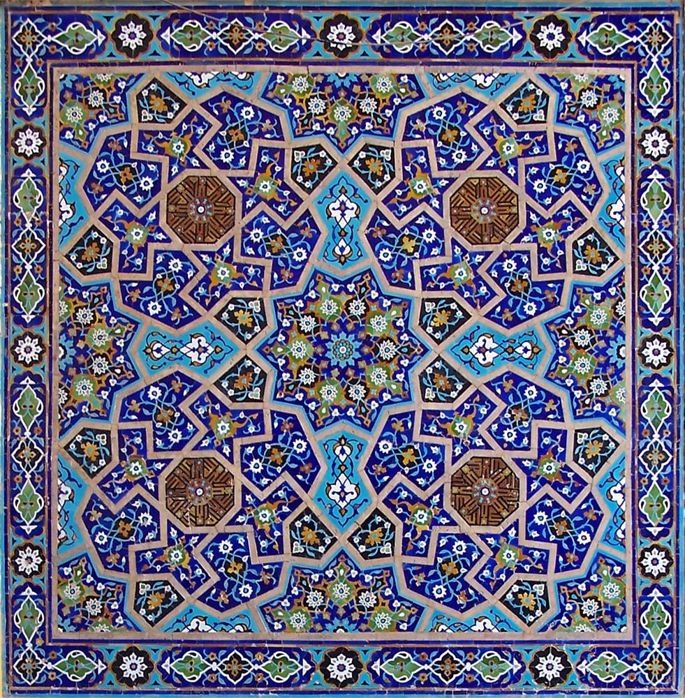 アラベスク モスク 幾何学