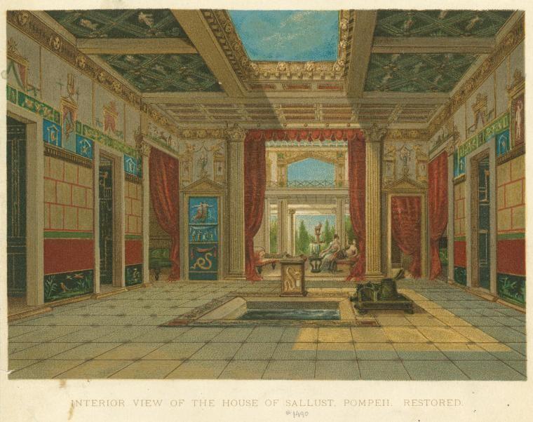 ポンペイ ドムス 古代ローマ