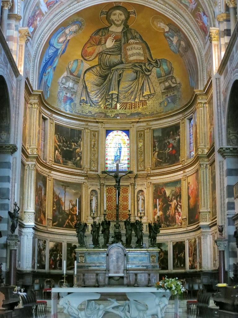 ピサ大聖堂 アプス