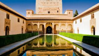イスラム文化 スペイン アルハンブラ宮殿