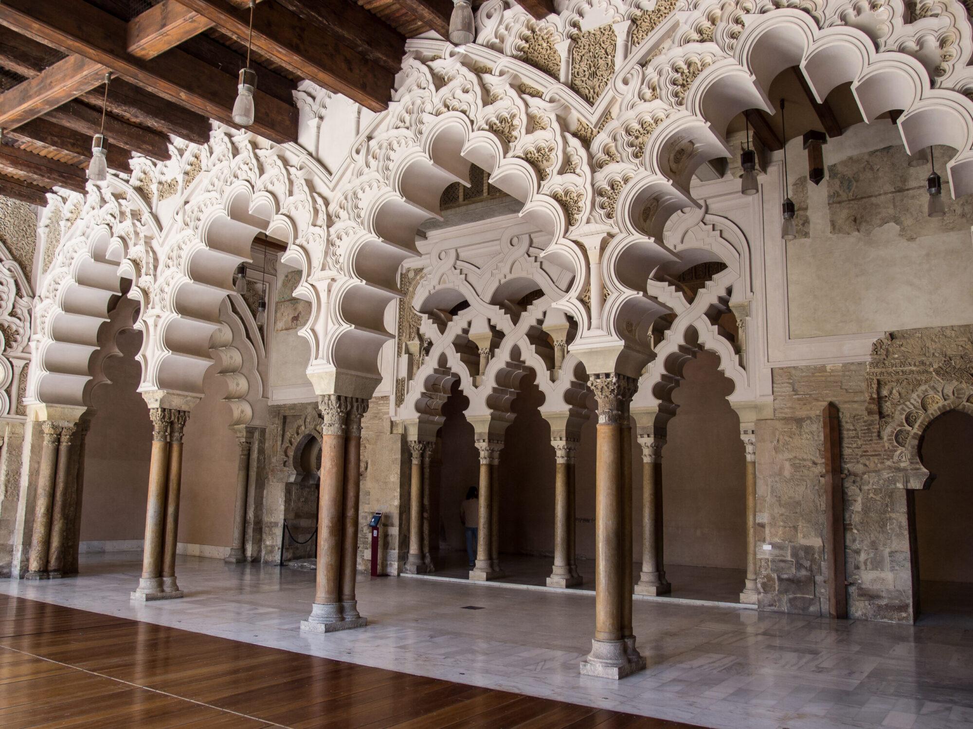 アルハフェリア宮殿 イスラム アーチ