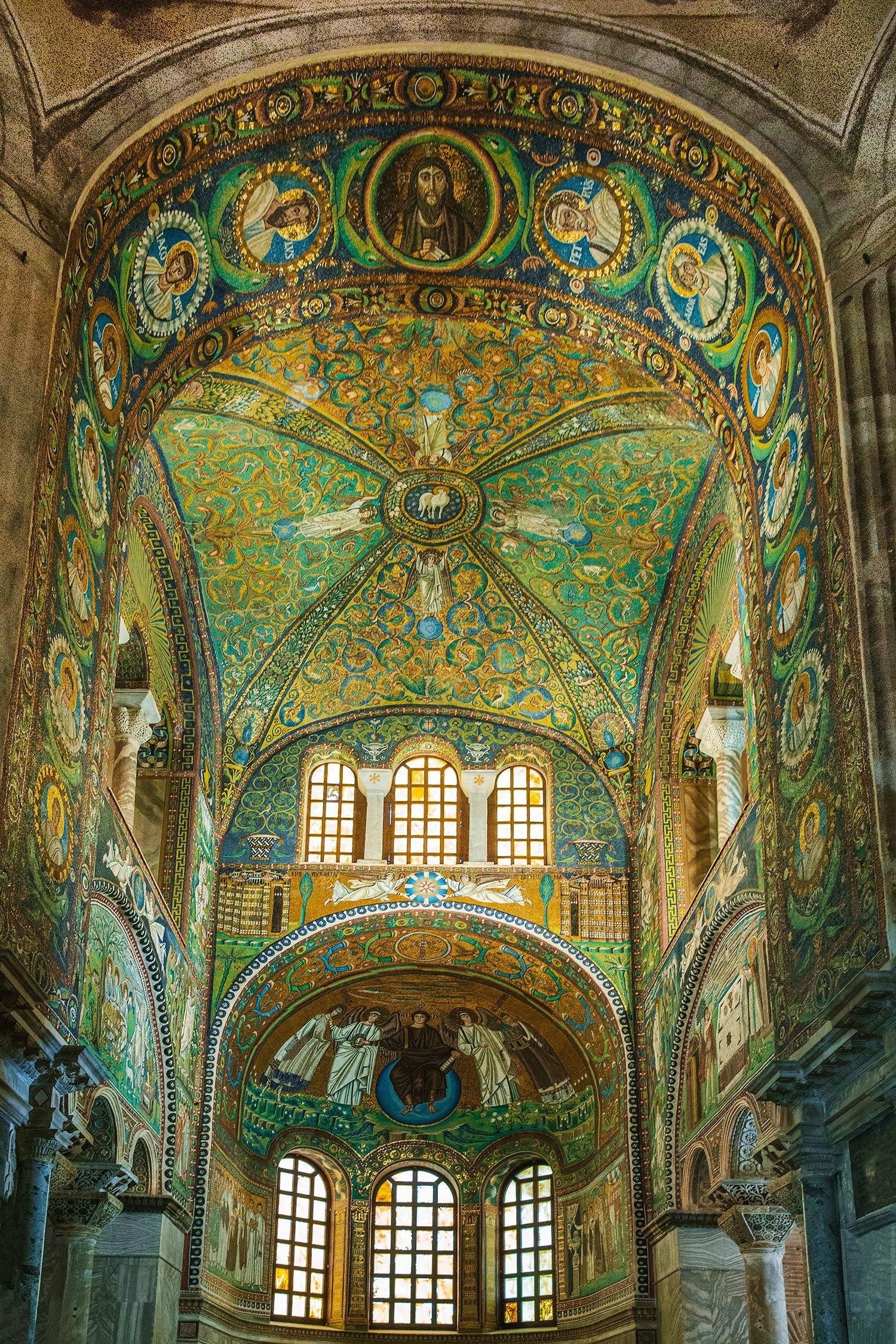 モザイク ラヴェンナ サン・ヴィターレ聖堂