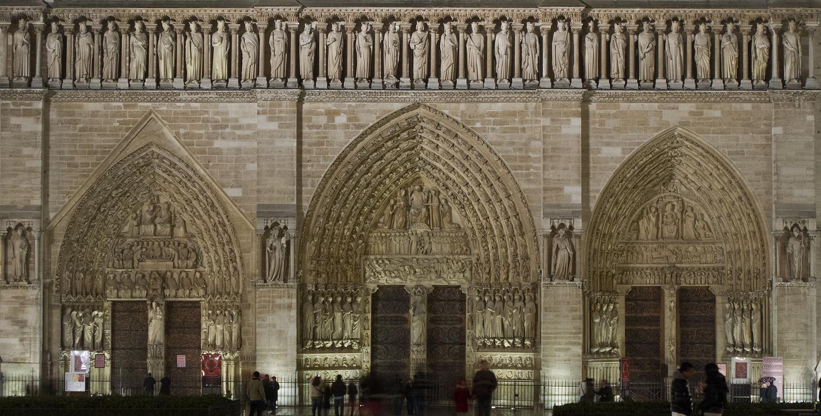 尖頭アーチ ノートルダム大聖堂