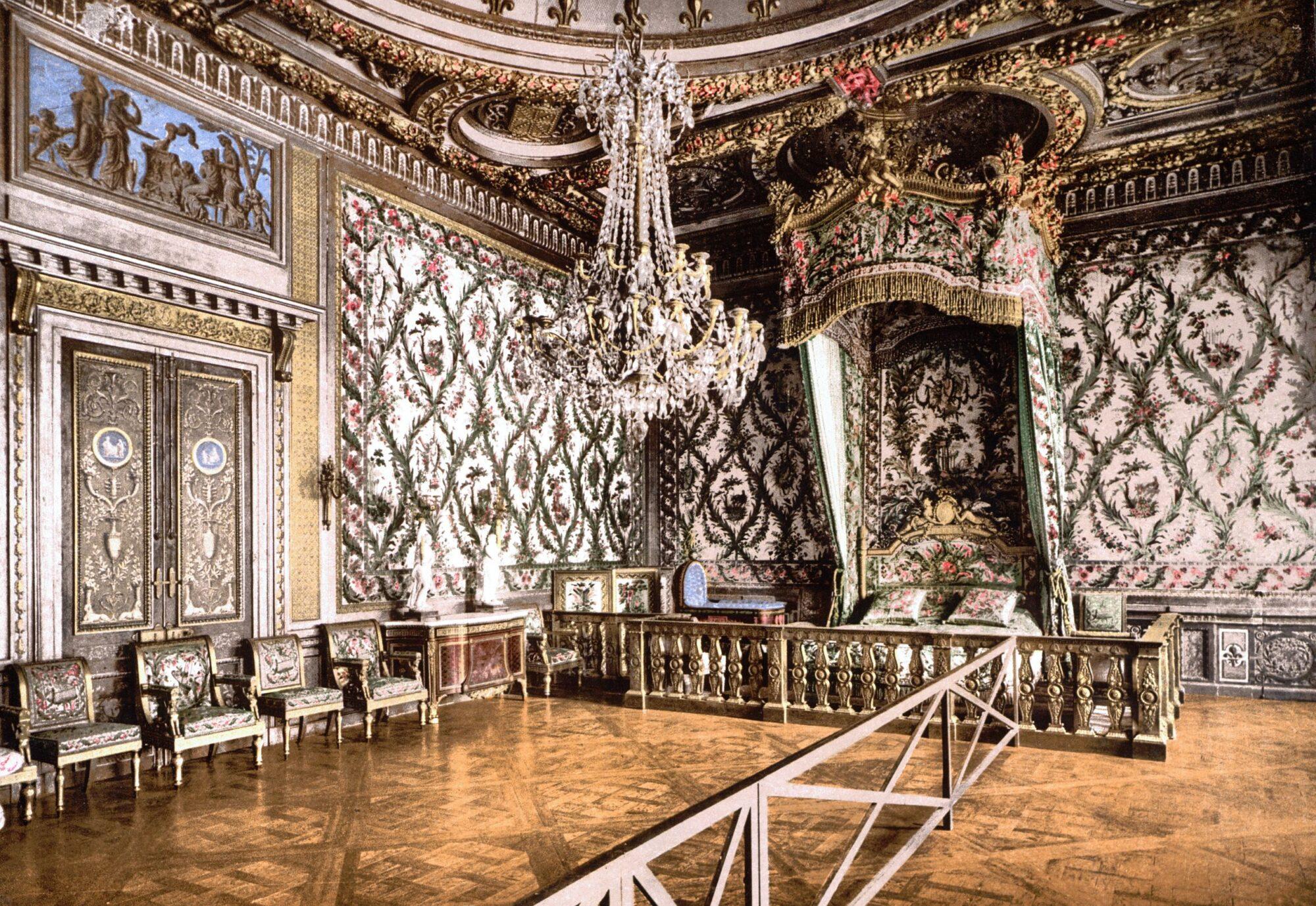 フォンテーヌブロー宮殿 皇后の寝室