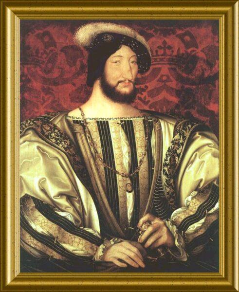 フランソワ1世 肖像画