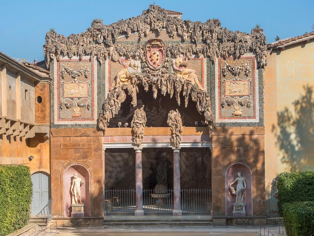 マニエリスム 建築 ボーボリ公園 洞窟