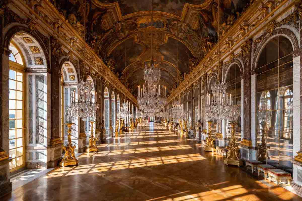 鏡の間 ヴェルサイユ宮殿
