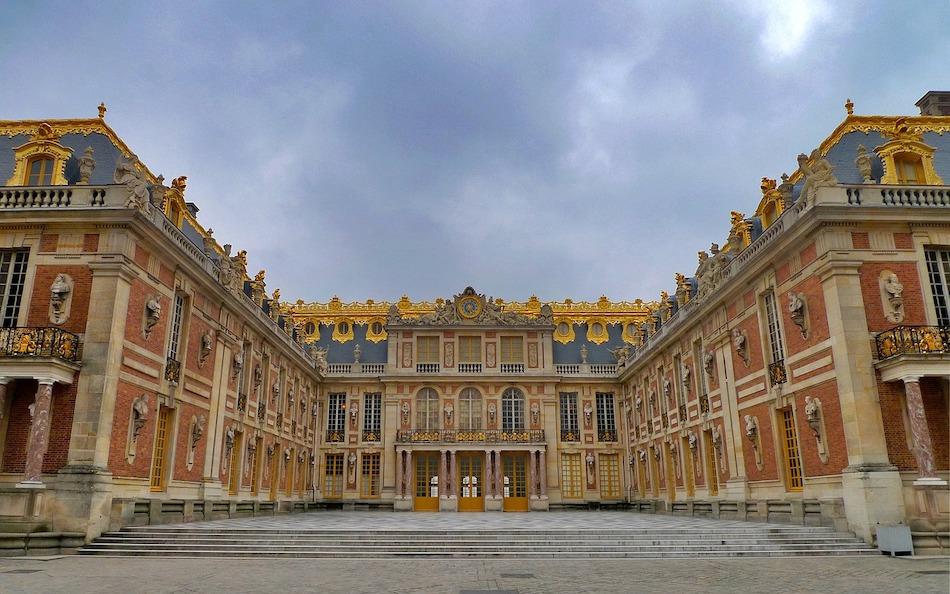 ヴェルサイユ宮殿 ルイ14世 バロック