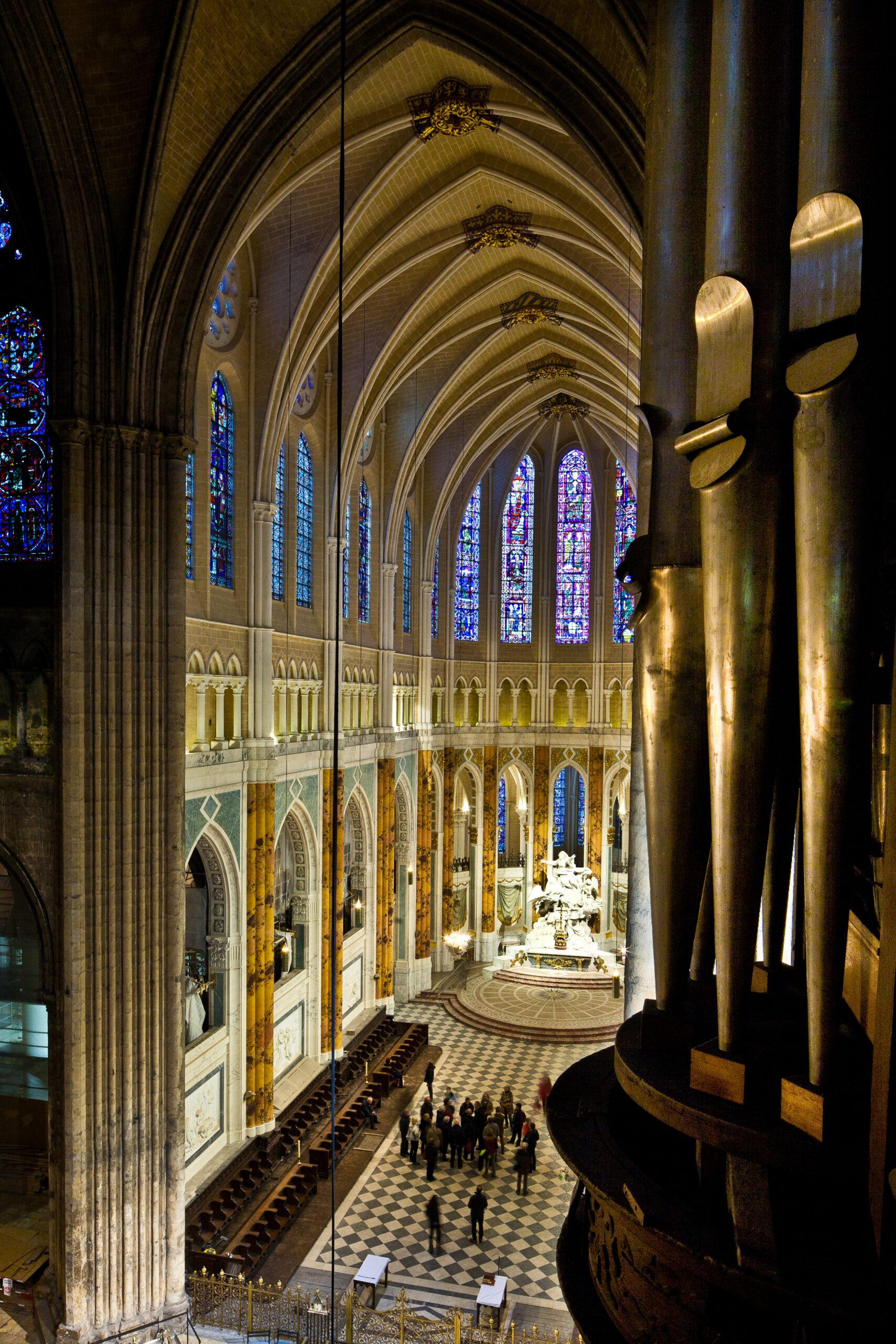 シャルトル大聖堂 アプス 祭壇