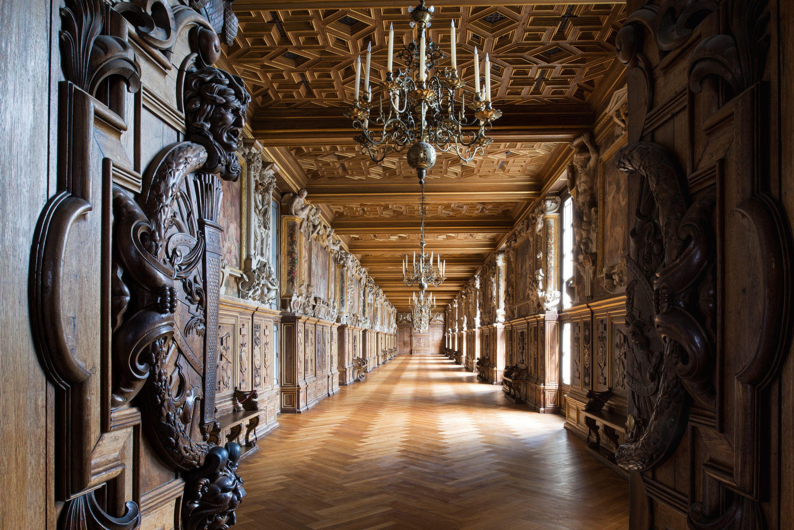 王の回廊 フォンテーヌブロー宮殿