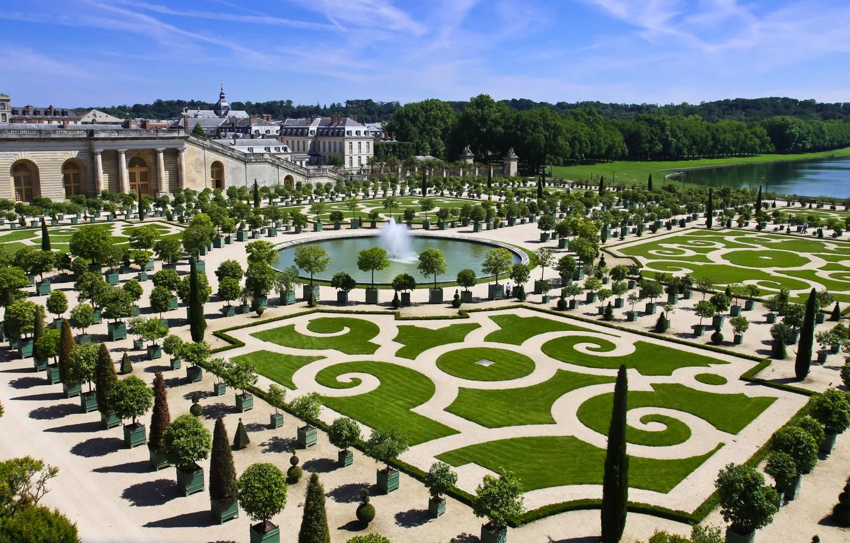 ヴェルサイユ宮殿 庭園 噴水
