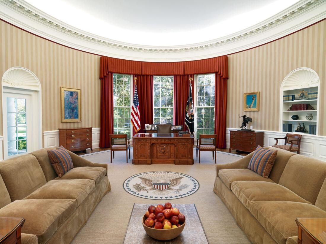 ホワイトハウス 大統領執務室