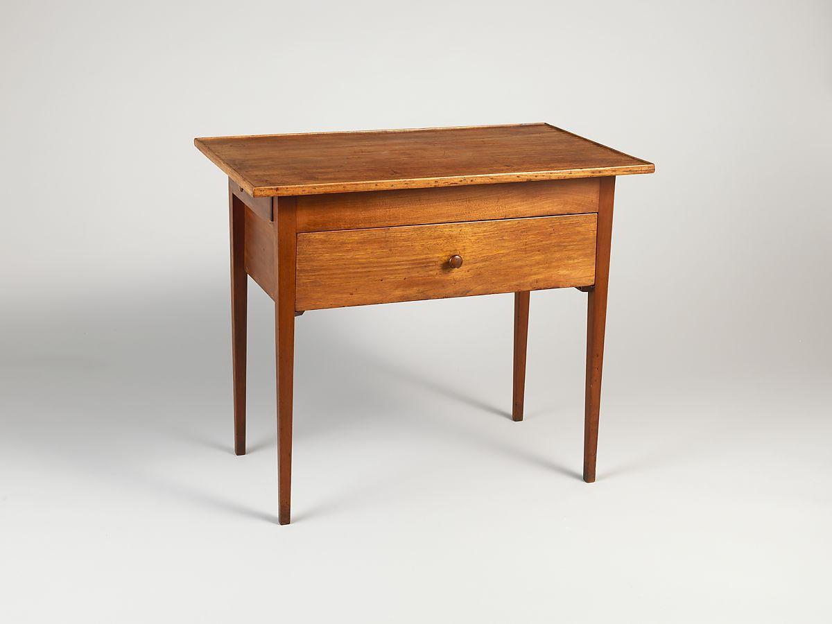 シェーカー様式 ワークテーブル