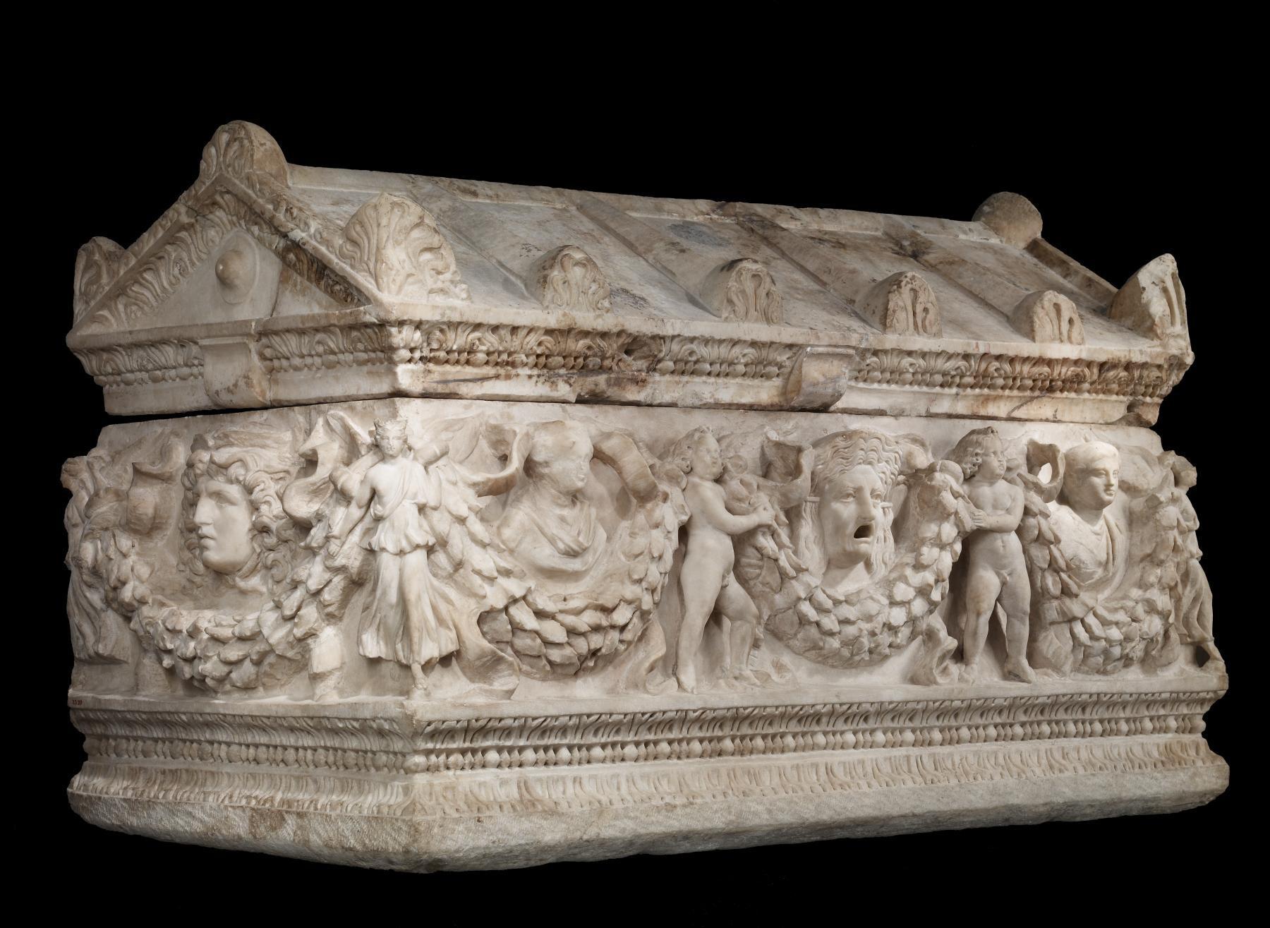 ガーランド 棺 フェスツーン