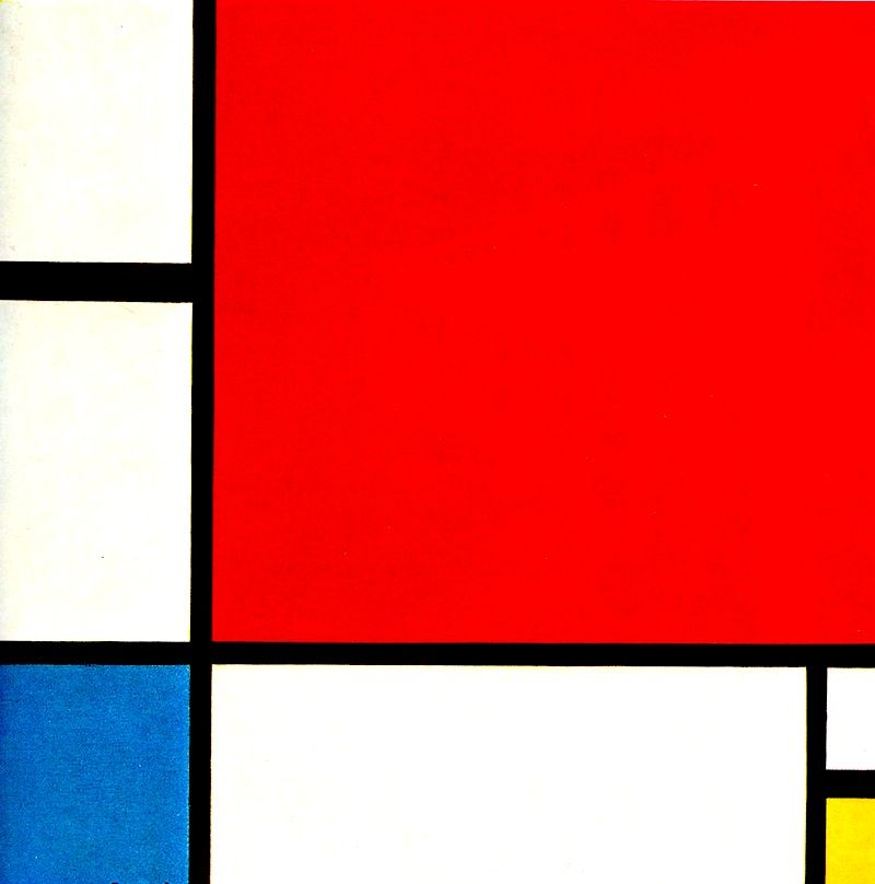 """""""Composition with Red, Blue and Yellow"""""""