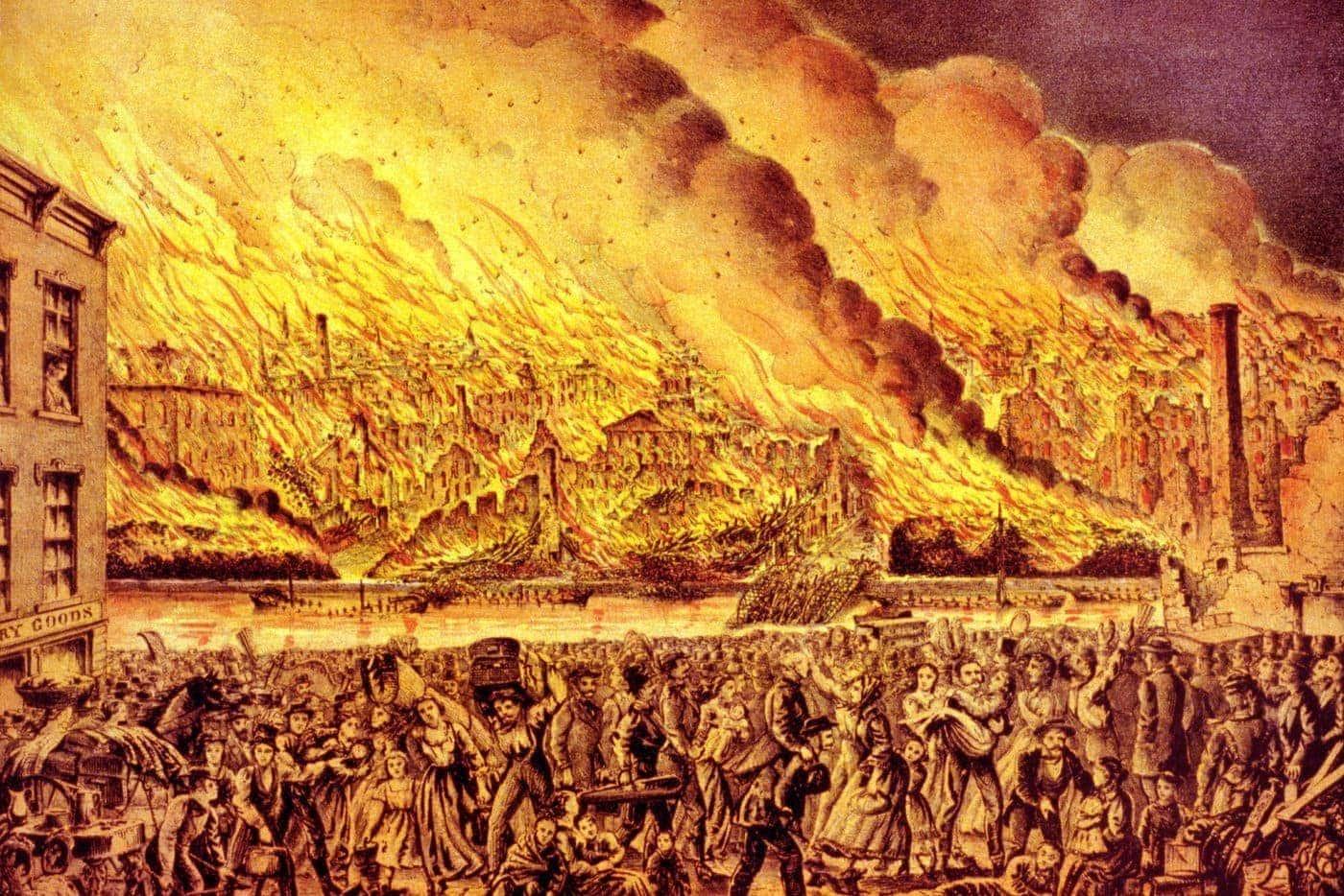 シカゴ大火