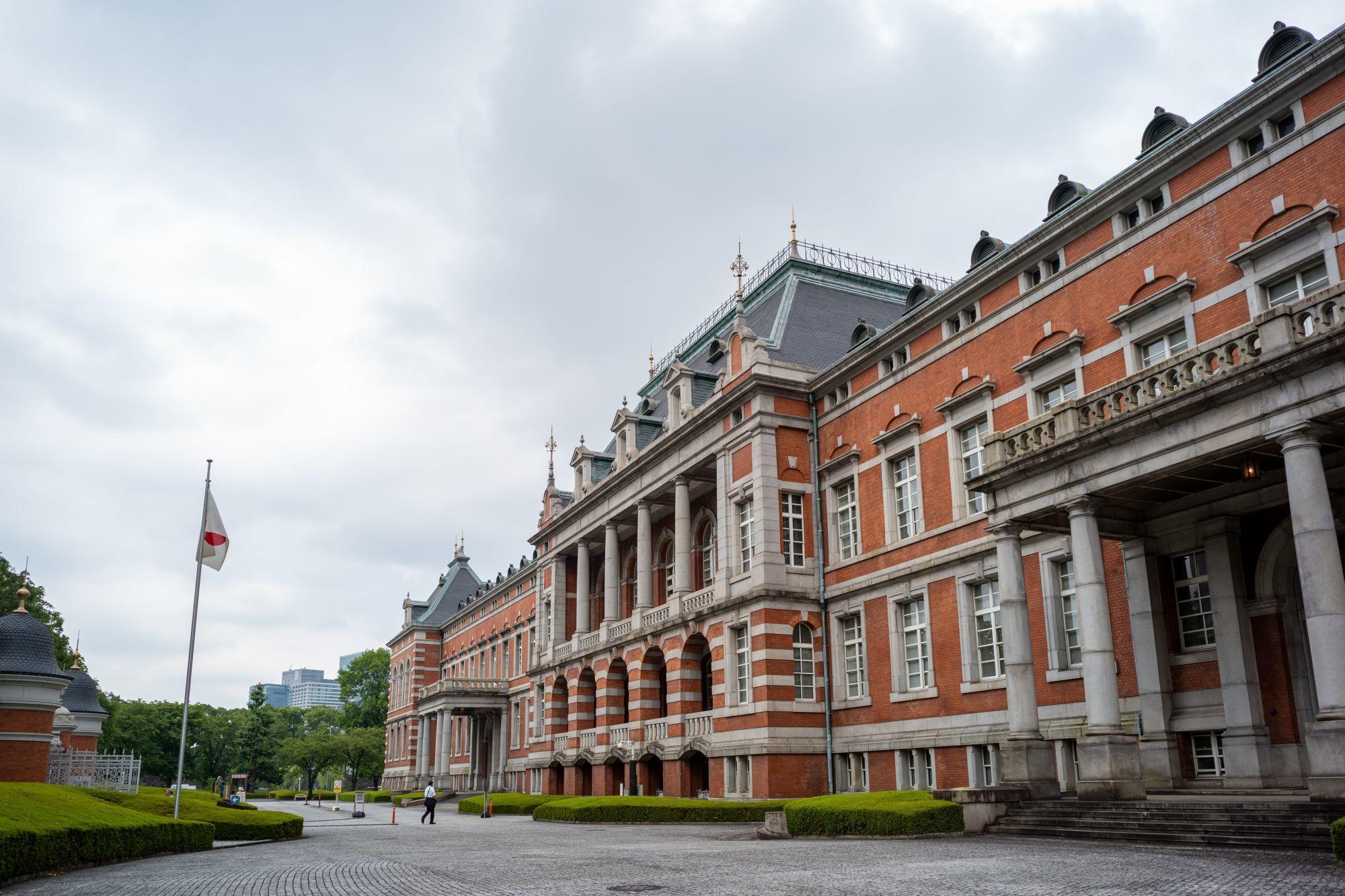 法務省 赤煉瓦 赤レンガ ヘルマンムテジウス