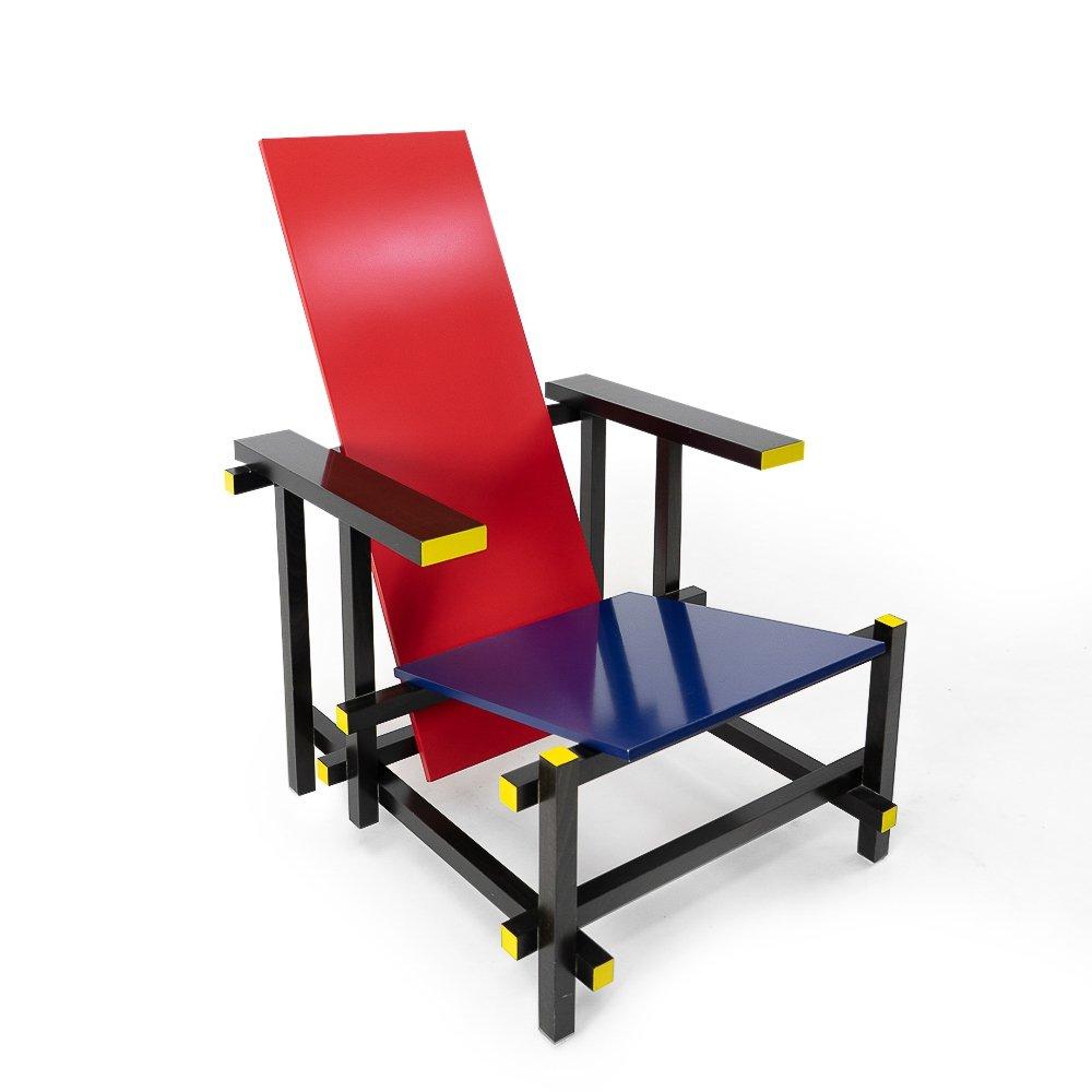 赤と青の椅子 レッド・アンド・ブルー