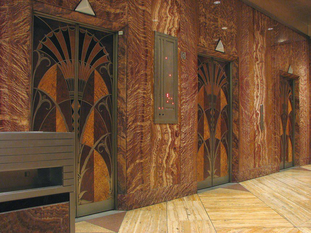 クライスラービル エレベーター