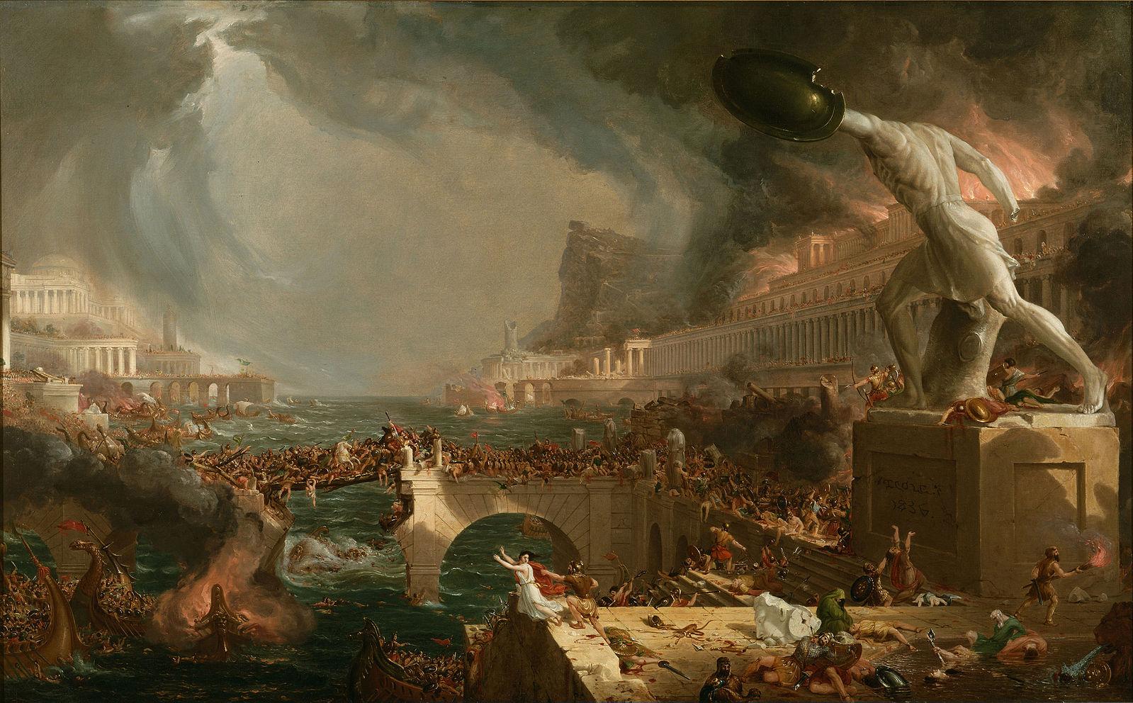 西ローマ帝国 滅亡