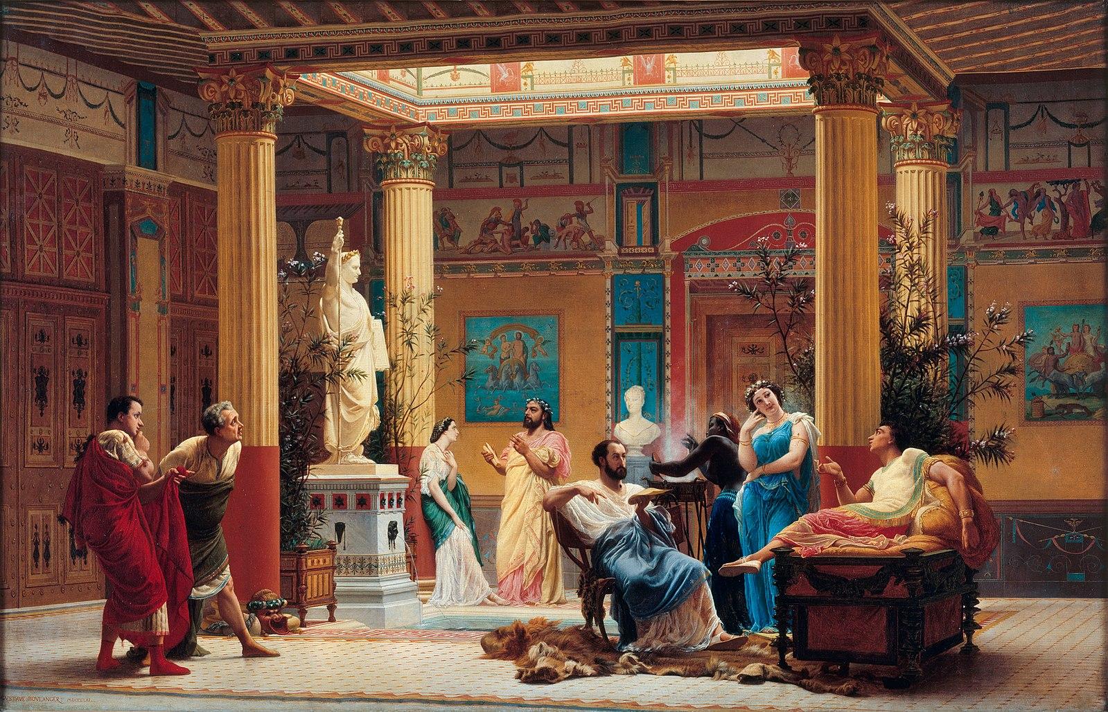 ポンペイ ローマ アトリウム