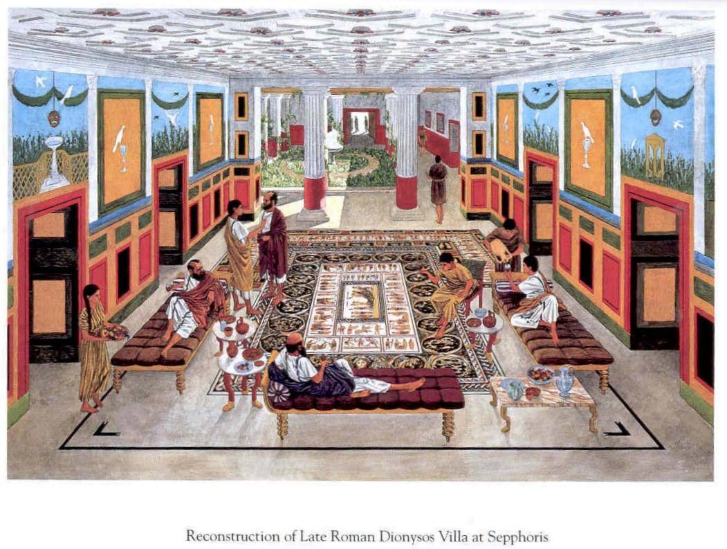 ヴィラ 古代ローマ