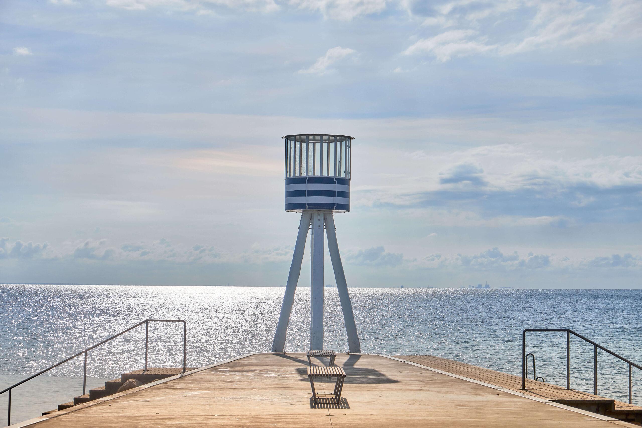ライフガードタワー 監視塔 ベルヴュービーチ