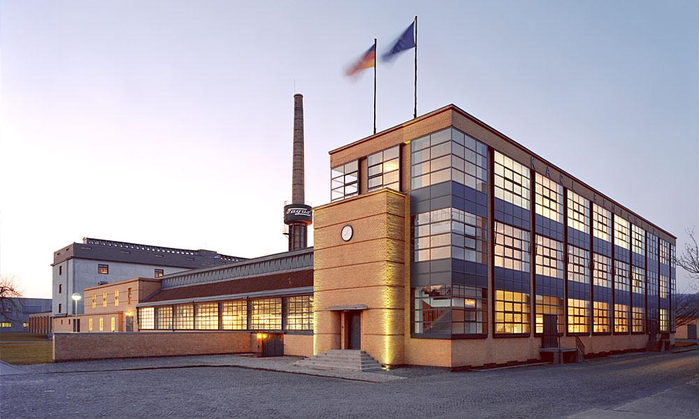 ヴァルター・グロピウス ファグスの靴型工場