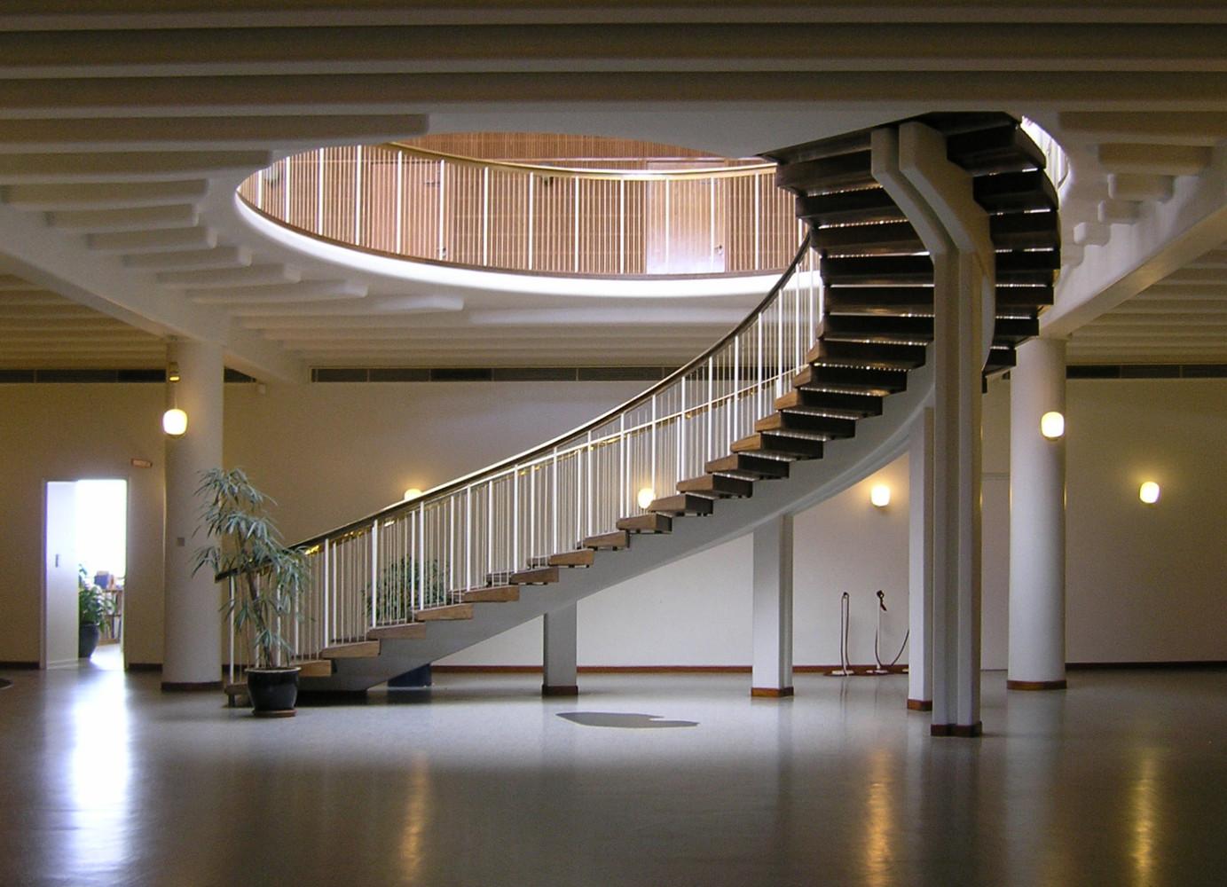 オーフス市庁舎 ホール